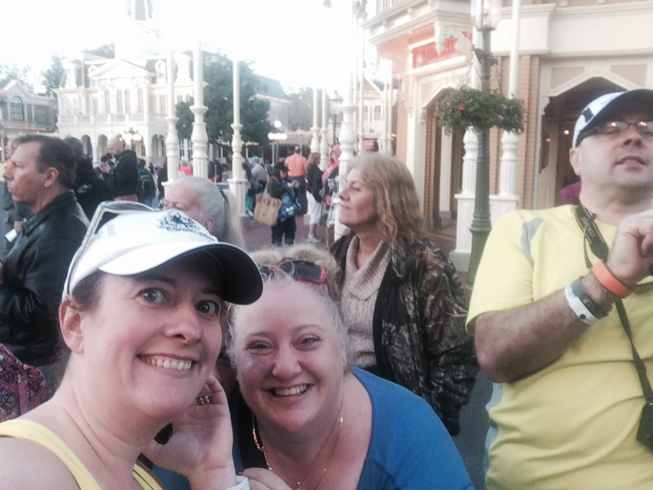 2014 runDisney walt disney world marathon amanda tinney jackie marc magic kingdom
