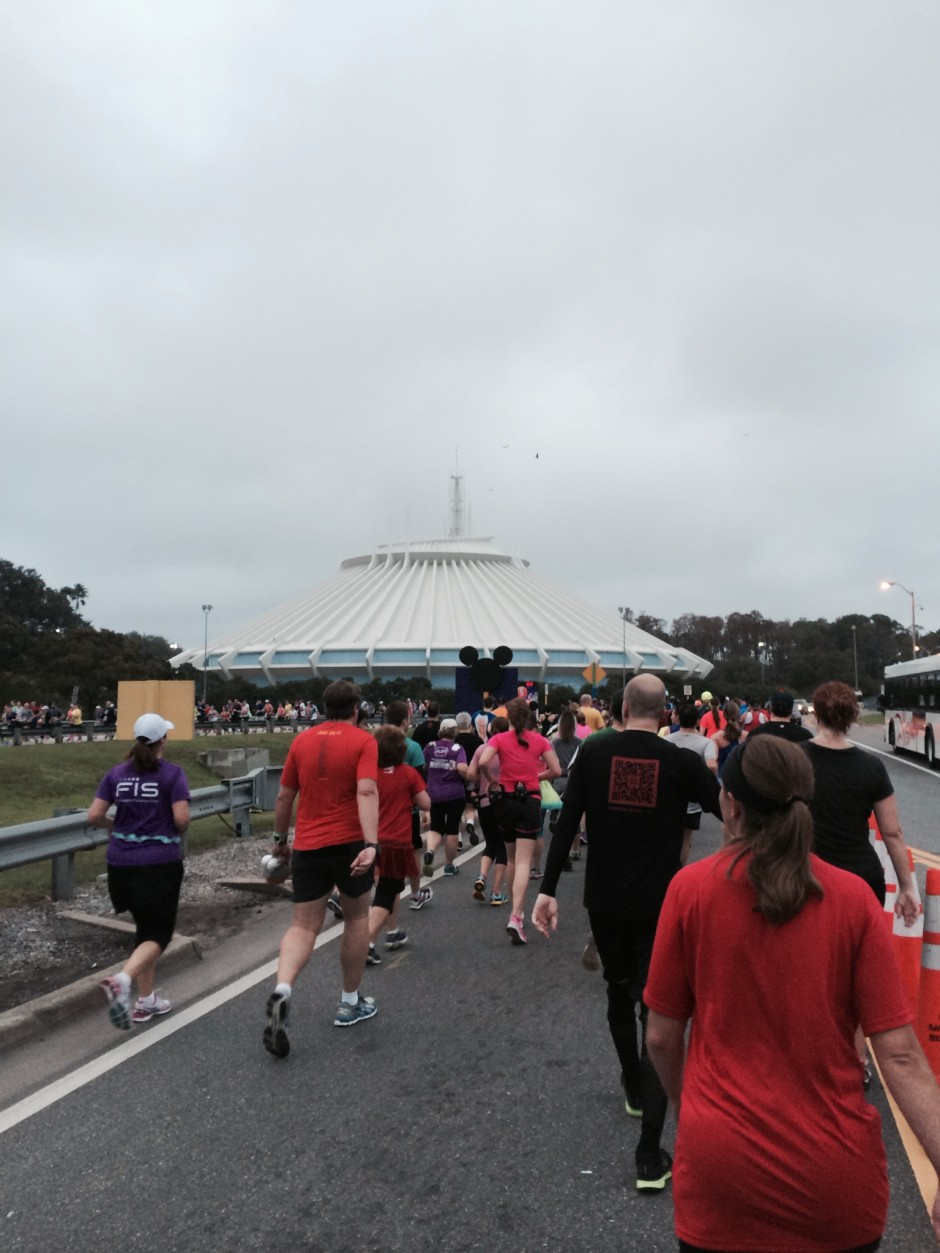 2014 rundisney dopey challenge walt disney world half marathon space mountain