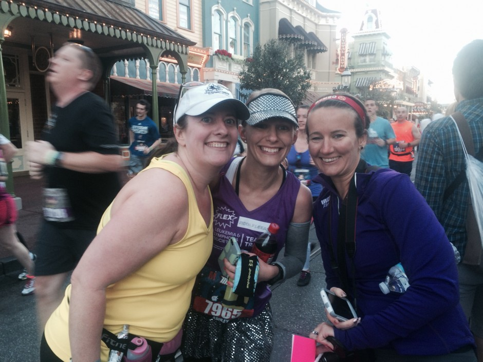 2014 runDisney walt disney world marathon amanda tinney ashley meghann magic kingdom