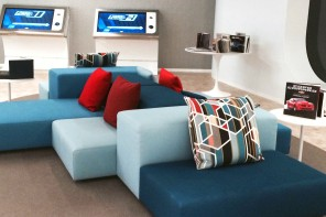 A Look Inside the Private Chevrolet GM VIP Lounge Above Test Track in Epcot