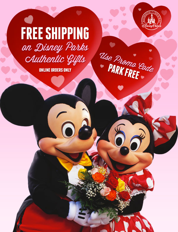 Code for Free Shipping on Disney Parks Merchandise from the Disney Store