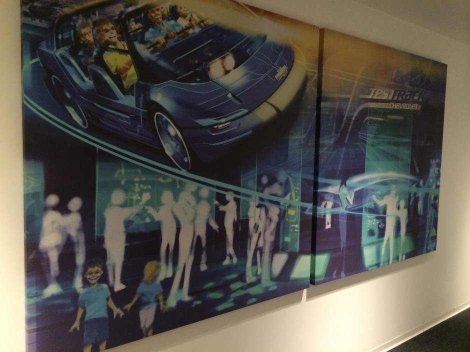 private test track VIP Lounge GM Epcot Chevrolet