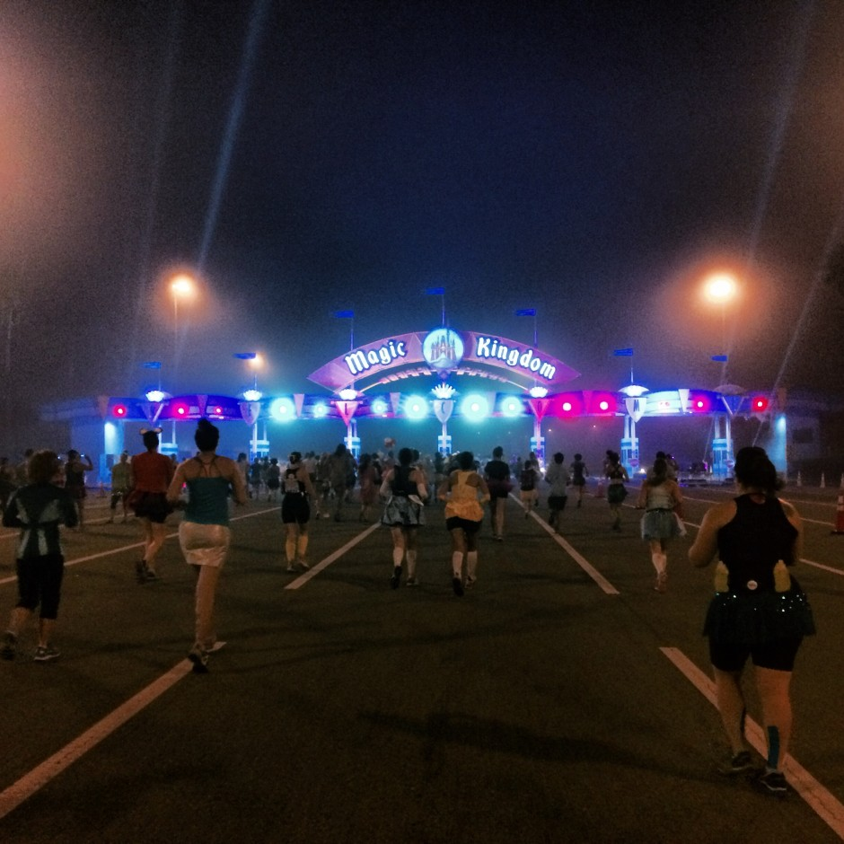 2014 disney princess half marathon magic kingdom toll plaza