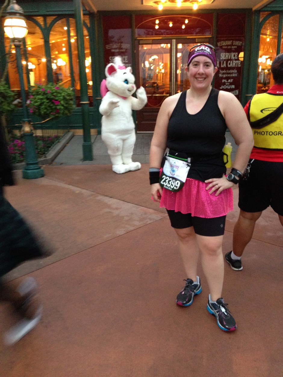 2014 inaugural enchanted 10k disney princess half marathon glass slipper challenge world showcase
