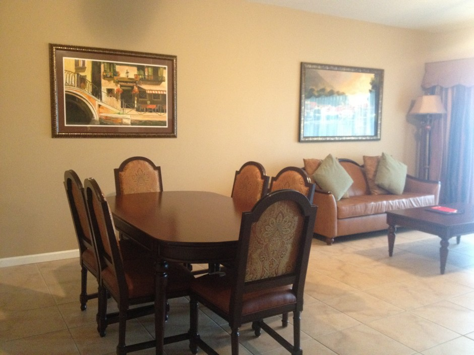 stay in a 3 bedroom suite at worldquest resort during