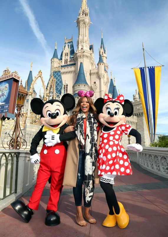 Wendy Williams Shows Her Disney Side at Disney World