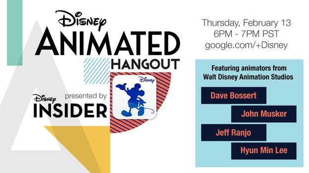 disney animated hangout