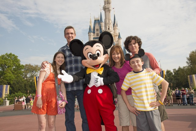 "Cast of ABC's ""The Middle"" Taping Season Finale at Walt Disney World"