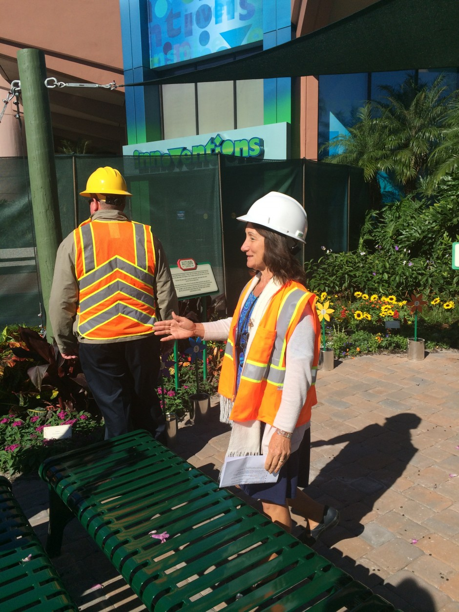 2014 epcot international flower and garden festival behind the scenes