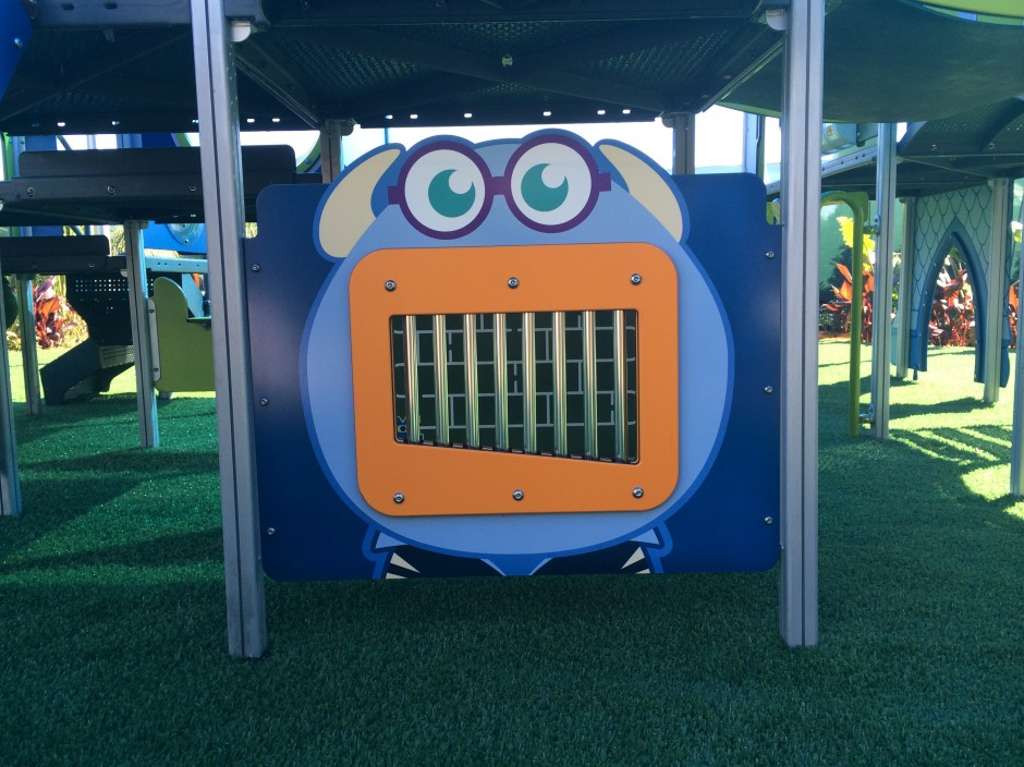 2014 epcot flower and garden festival monsters mike sulley garden playground