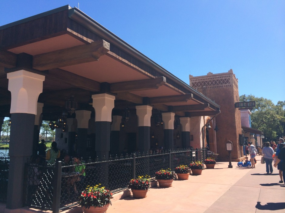 Epcot's Morocco Pavilion Spice Road Table Restaurant Review at Walt Disney World
