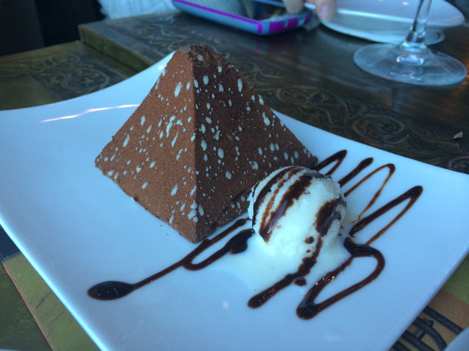 disney epcot morocco spice road table restaurant chocolate pyramid