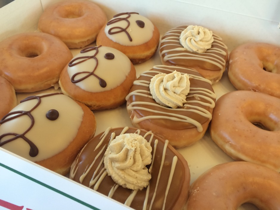 Have You Tried Krispy Kreme's New #LottaLatte Doughnuts Yet?