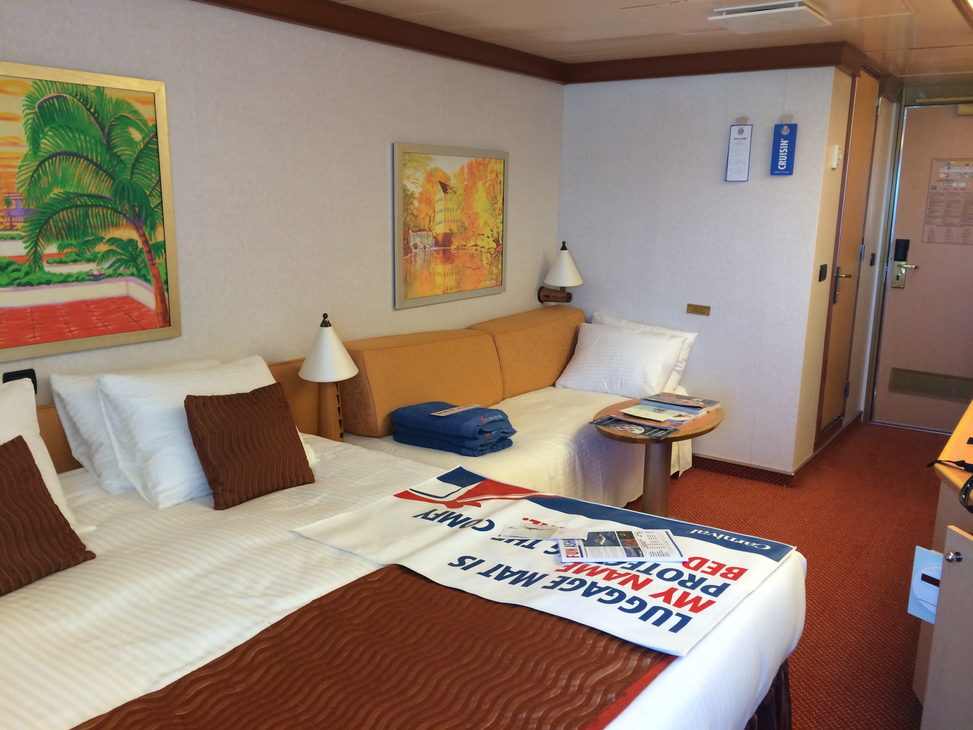 Day 1 carnival dream cruise report western caribbean for 3 rooms for 1999