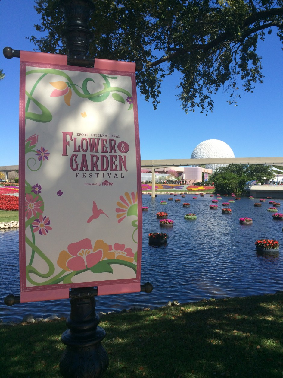 Dates for the 2015 Epcot International Flower and Garden Festival at Walt Disney World