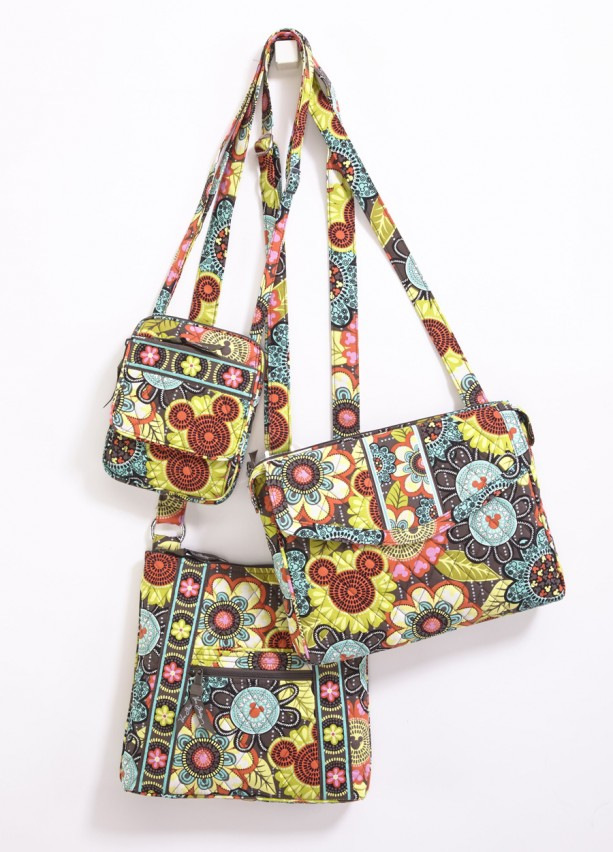 disney vera bradley perfect petals bags