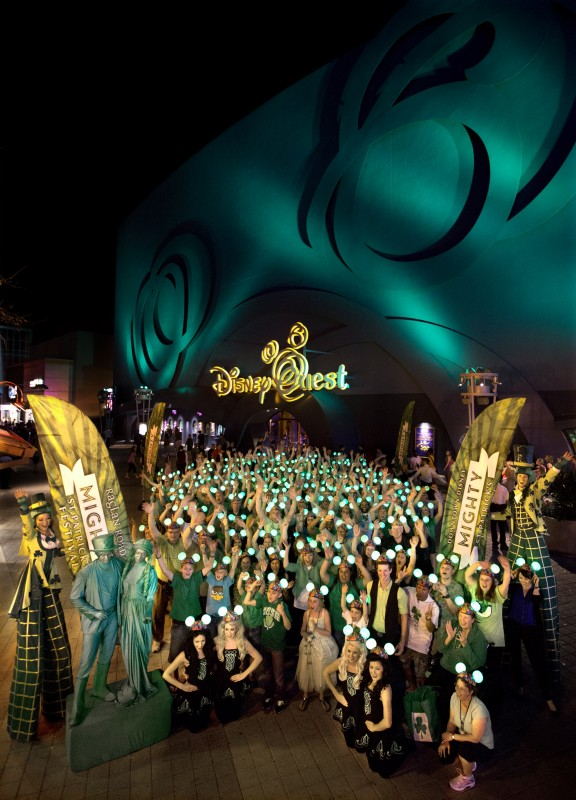 Hundreds Celebrate in Grand Disney Style at Downtown Disney for St. Patrick's Day