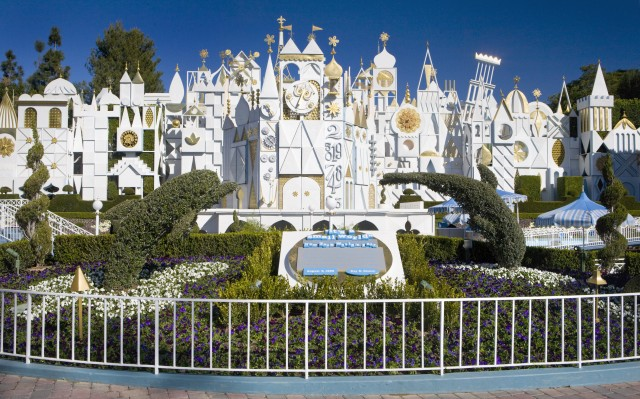 small world california disney
