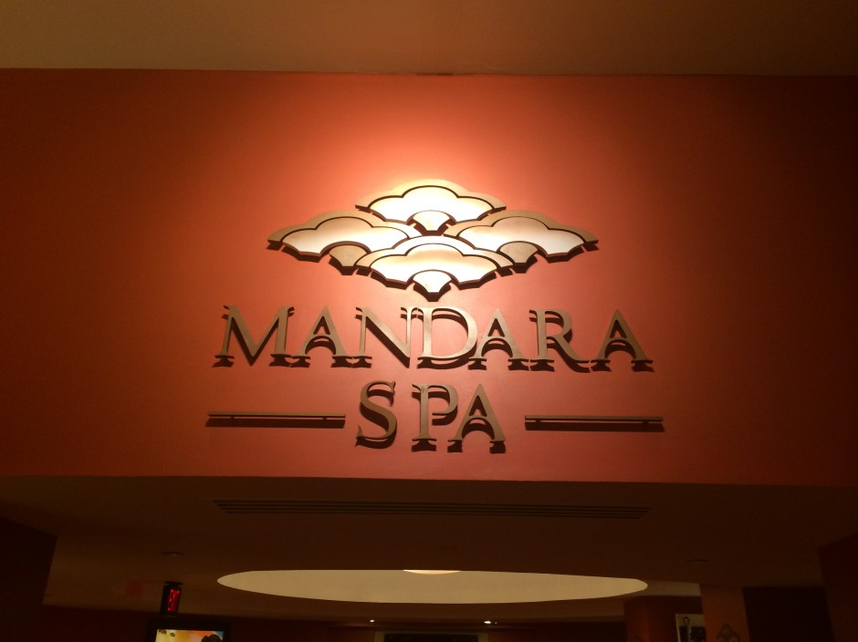 Review of the Mandara Spa at the Walt Disney World Dolphin Resort