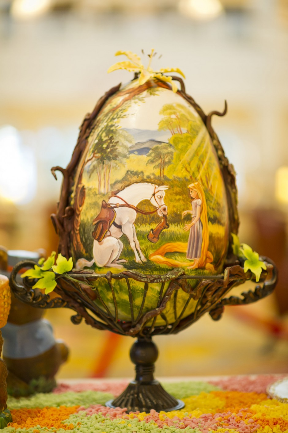 disney tangled rapunzel chocolate easter egg