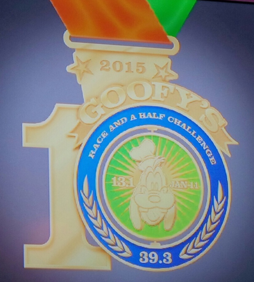 Disney Reveals the runDisney 2015 Goofy 10th Anniversary Marathon Medal