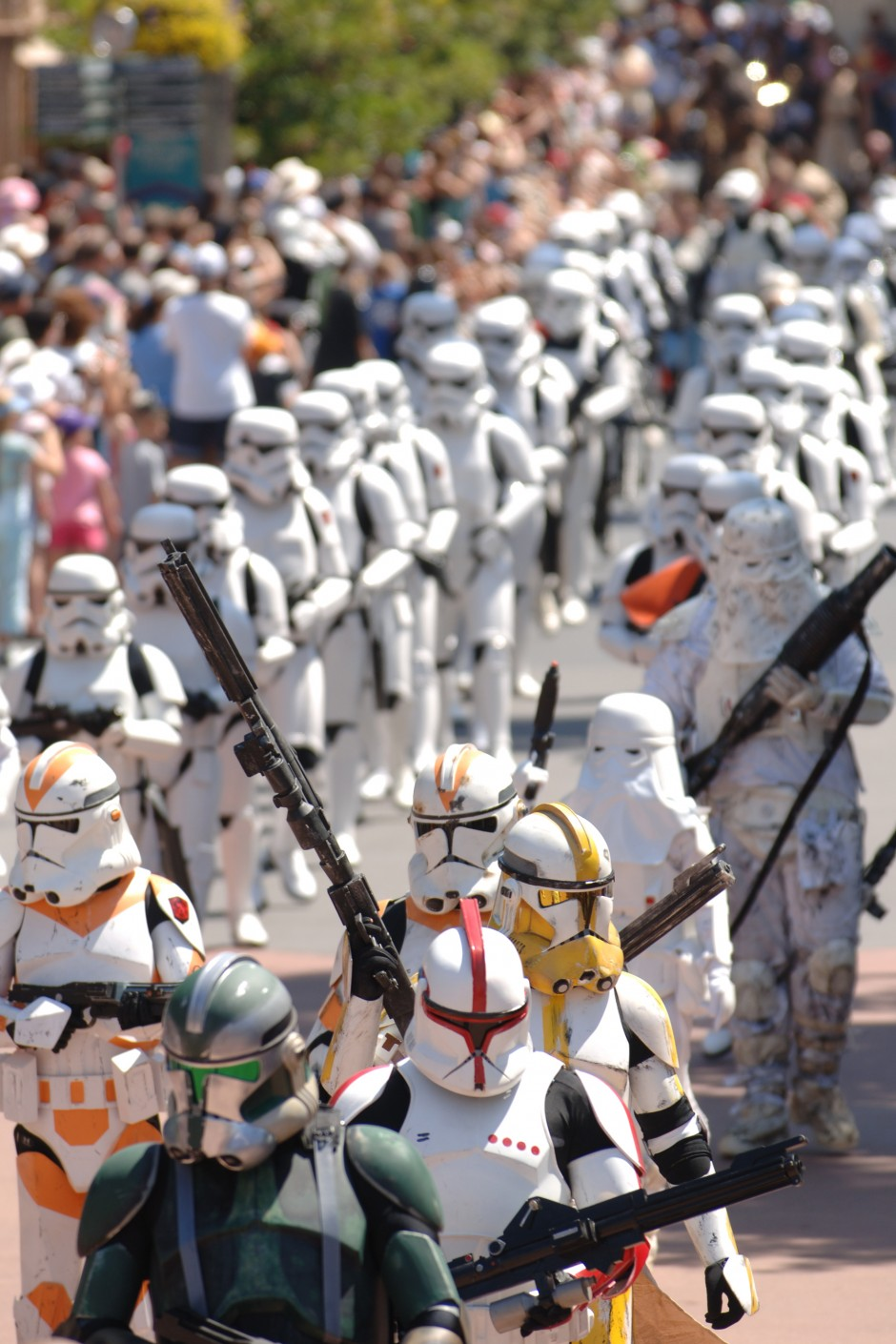 star wars storm troopers weekends DHS