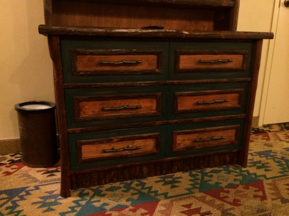 Disney wilderness lodge resort room furniture