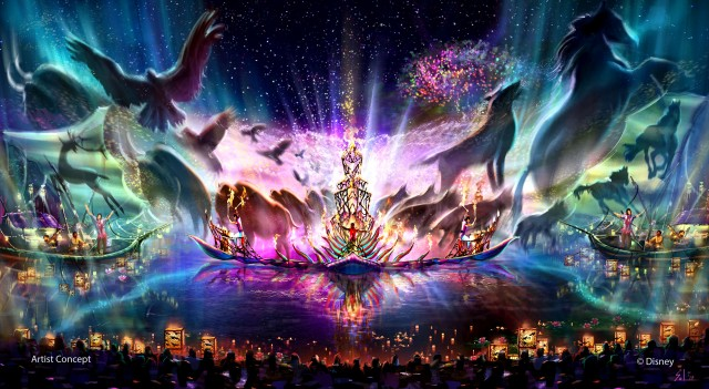 "First Look at the Concept Art for Disney's Newest Nighttime Show ""Rivers of Light"" at Animal Kingdom"
