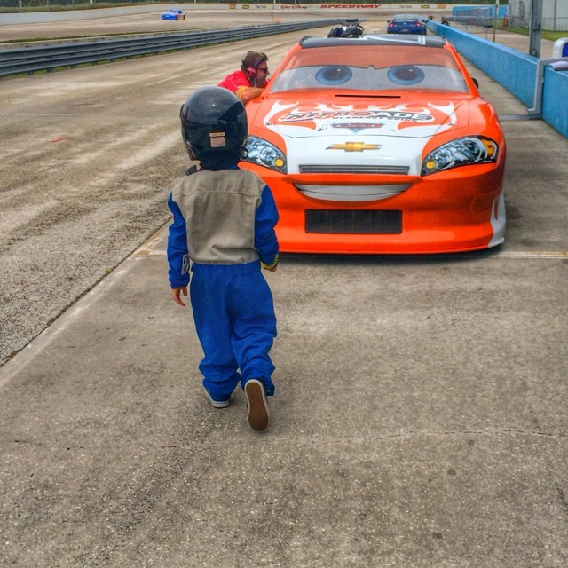 """Fulfill a Childhood Dream and Take Your Child on a Junior Ride Along in a Pixar """"Cars"""" Car"""