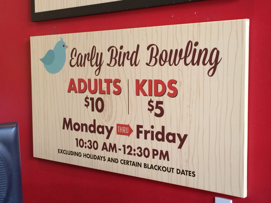 Splitsville Drops Prices for Early Bird Bowling at Downtown Disney