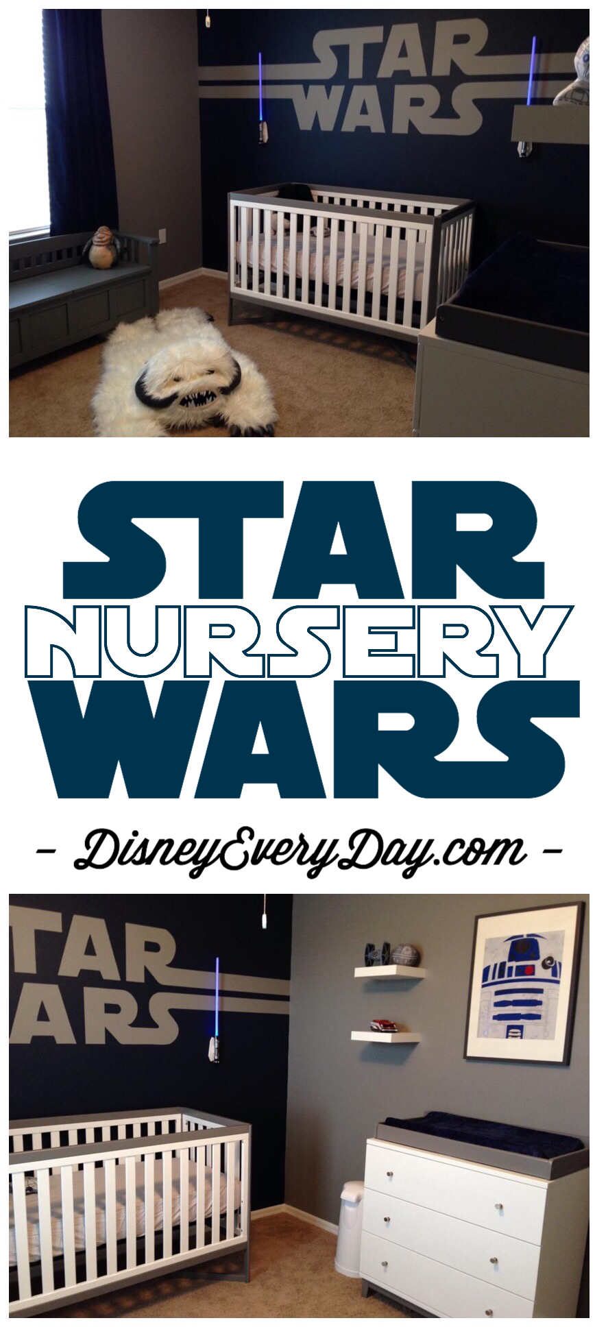 Diy Star Wars Baby Nursery Design By Greg Pabst Disney
