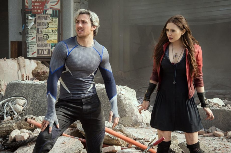 Marvel Avengers Age of Ultron Scarlet Witch and Quicksilver