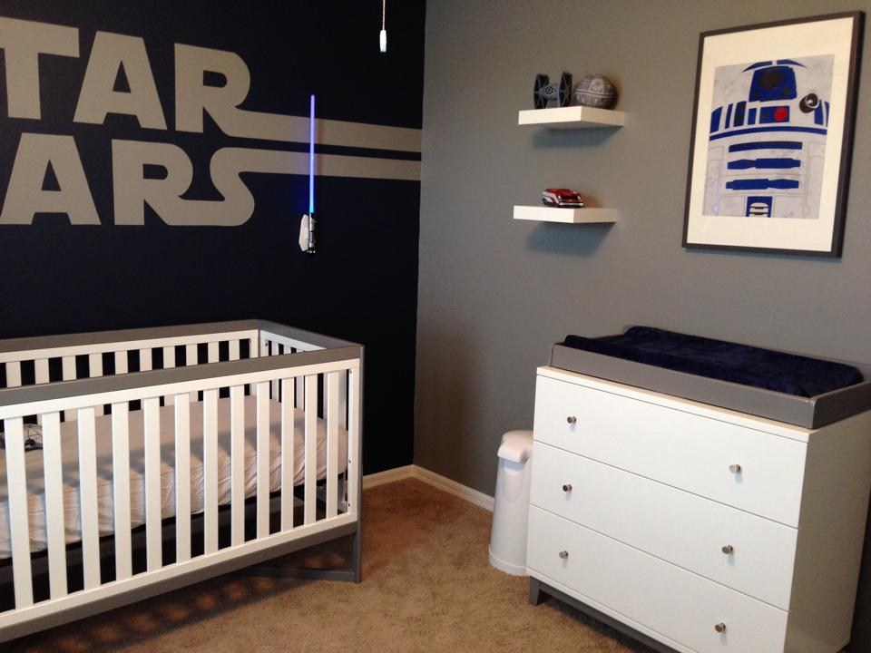 Star Wars Baby Nursery Design