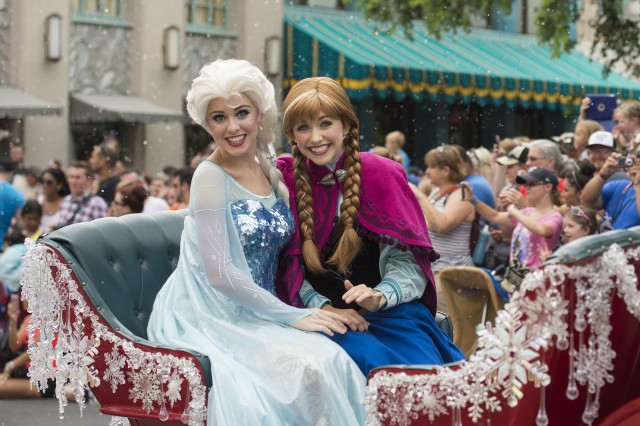 Frozen Summer Event Schedule at Disney's Hollywood Studios in Walt Disney World
