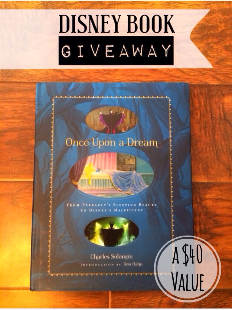 "$40 Sleeping Beauty ""Once Upon a Dream"" {Disney Book Giveaway}"