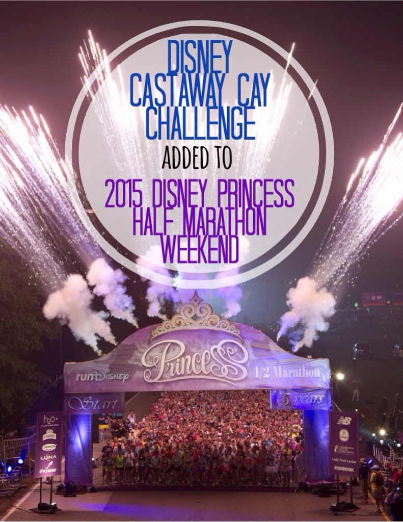 runDisney Adds Castaway Cay Challenge to the 2015 Disney Princess Half Marathon Weekend