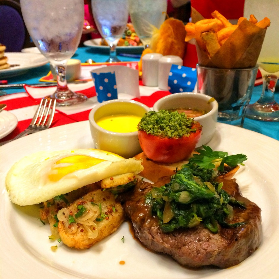 Menu Review of The Green Eggs and Ham Breakfast with The Cat in The ...