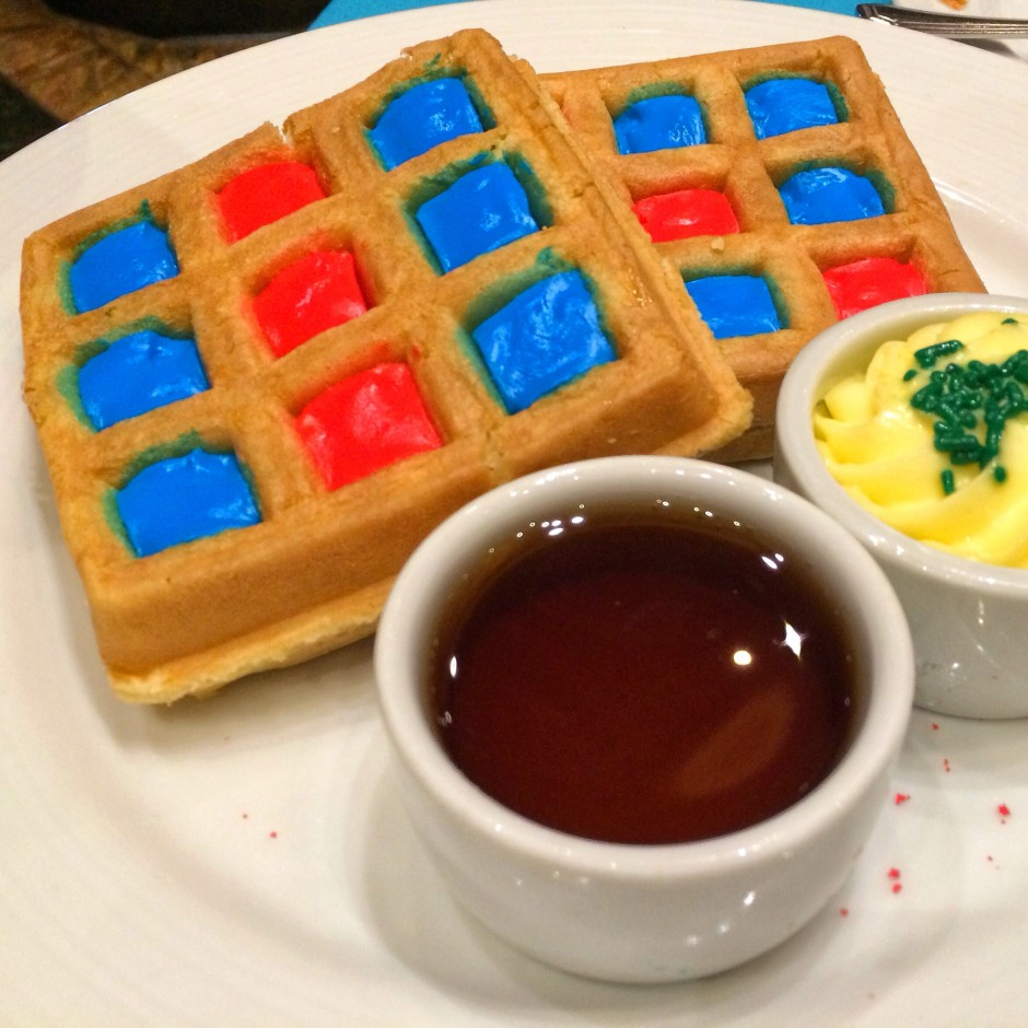 menu review of the green eggs and ham breakfast with the