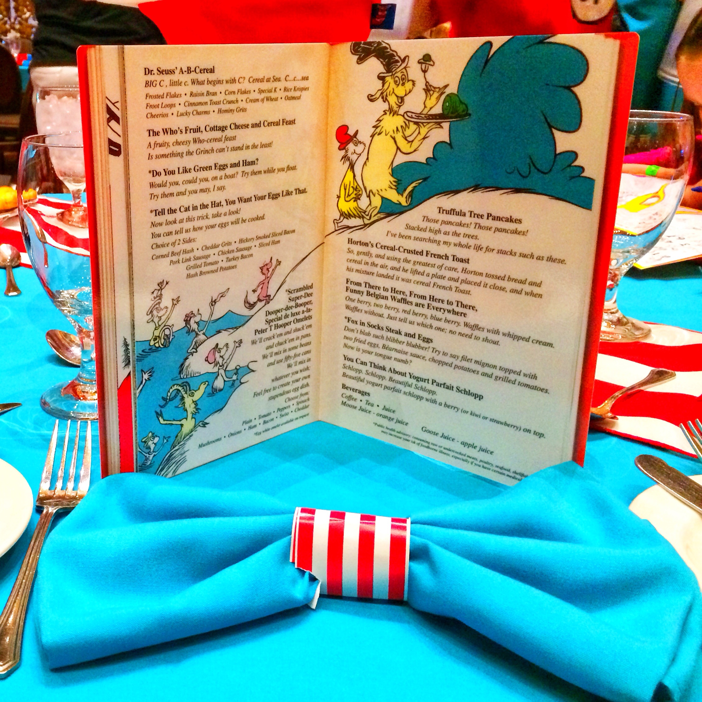 Menu Review of The Green Eggs and Ham Breakfast with The ...