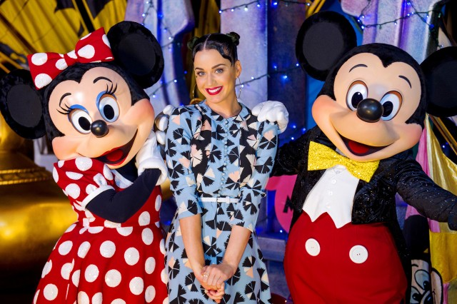 Katy Perry Spotted in Walt Disney World Over 4th of July Weekend