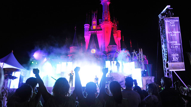 2014 Night of Joy Dates and Schedule of Performances at the Walt Disney World Resort