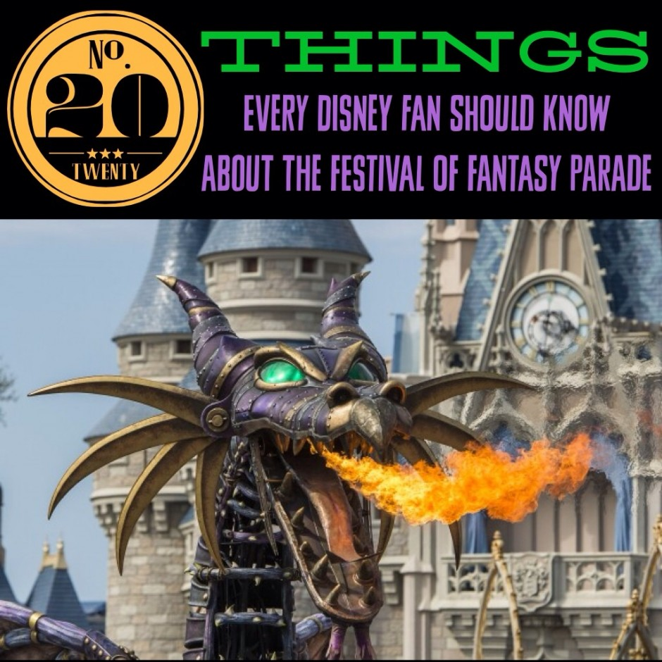 20 Things Every Disney Fan Should Know About the Festival of Fantasy Parade in the Magic Kingdom
