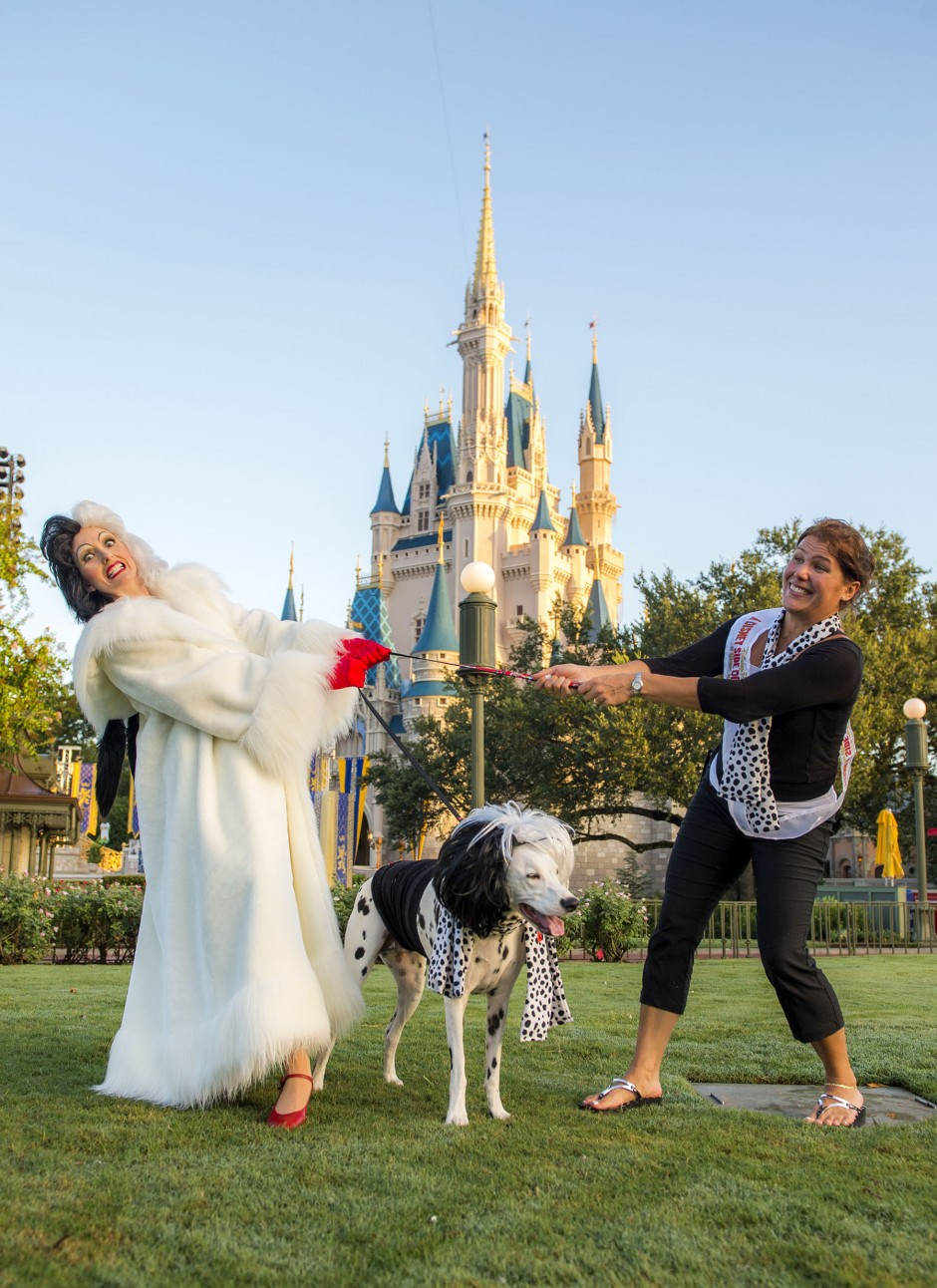 Cruella Dog in Magic Kingdom