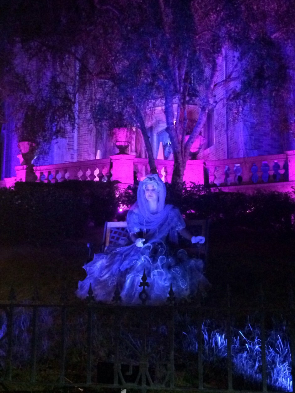 Mickeys Not So Scary Halloween Party Lady Carlotta at the Haunted Mansion