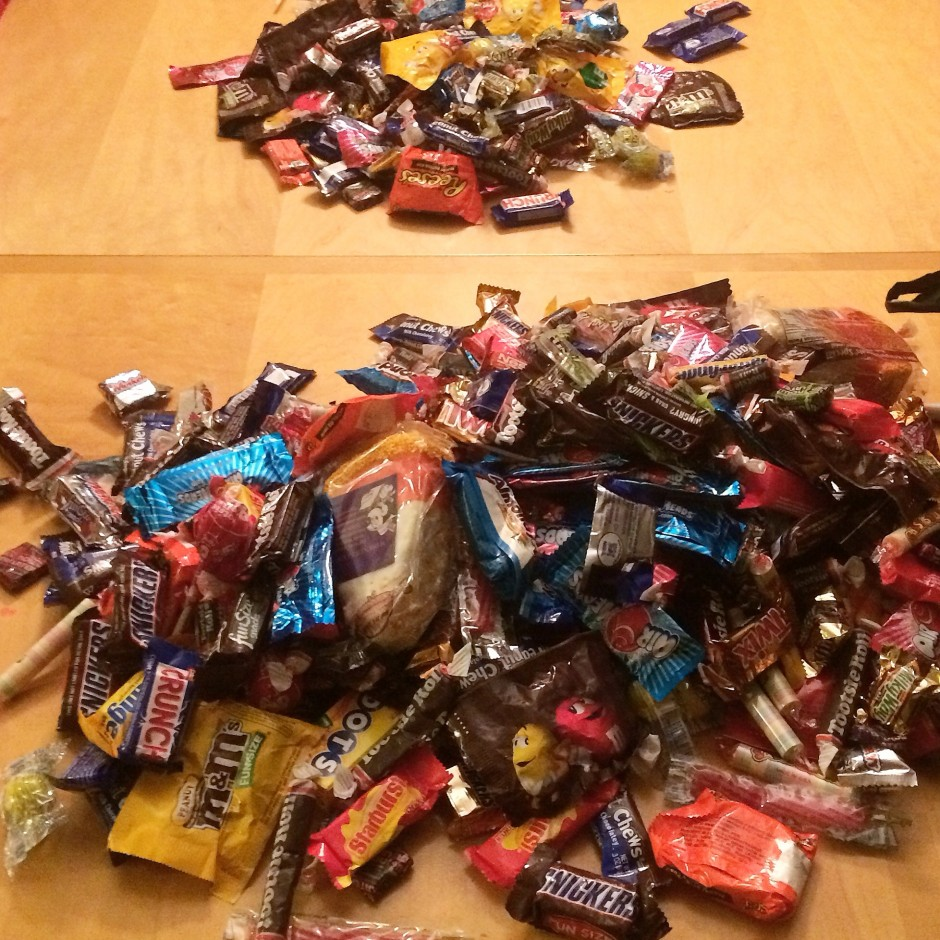 Mickeys Not So Scary Halloween Party 2014 Candy Haul