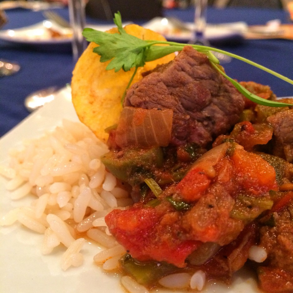 2014 Epcot International Food and Wine Festival - Slow-braised beef with Puerto Rican-grown rice