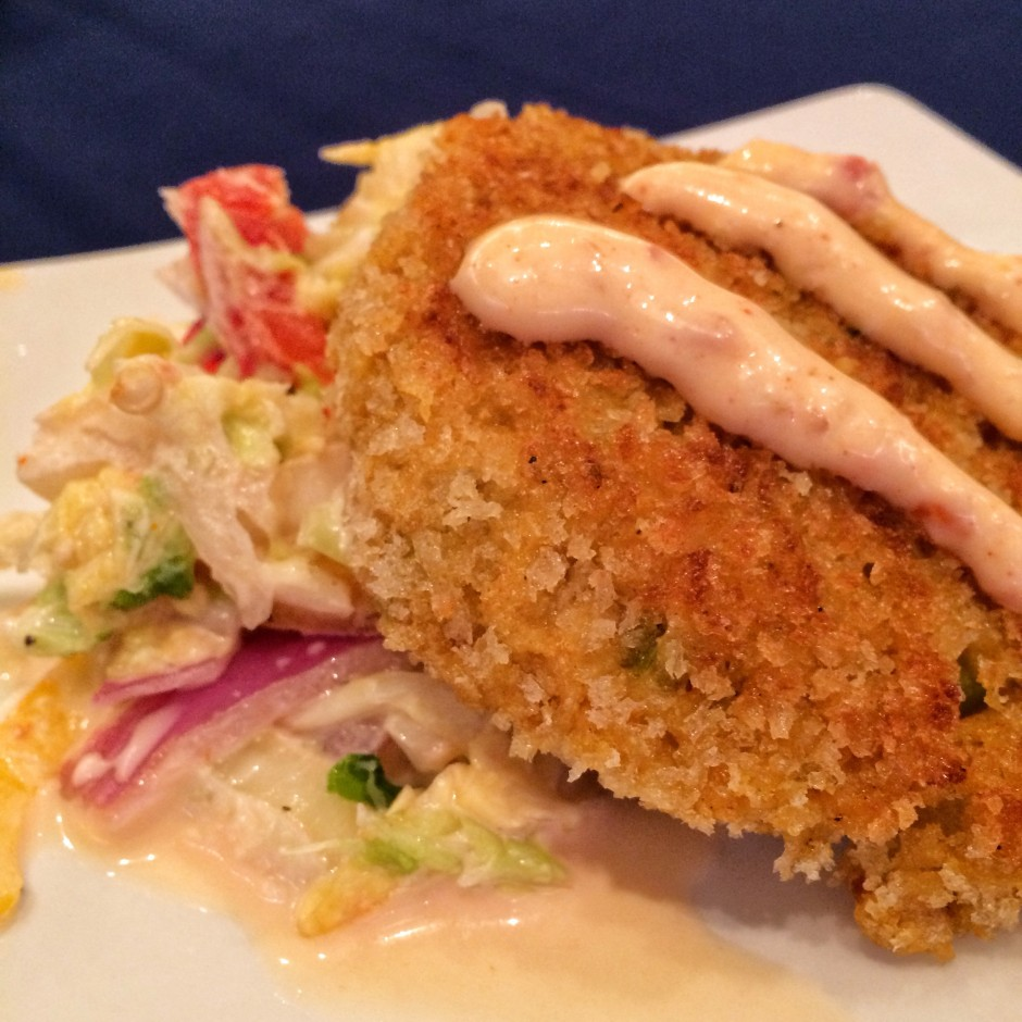 2014 Epcot International Food and Wine Festival - Crabless Crab Cake from Terra
