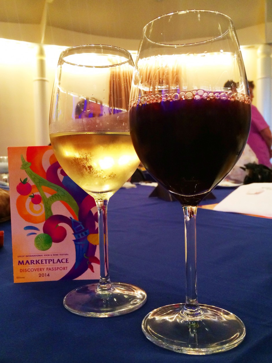 2014 Epcot International Food and Wine Festival - Red and White Wine