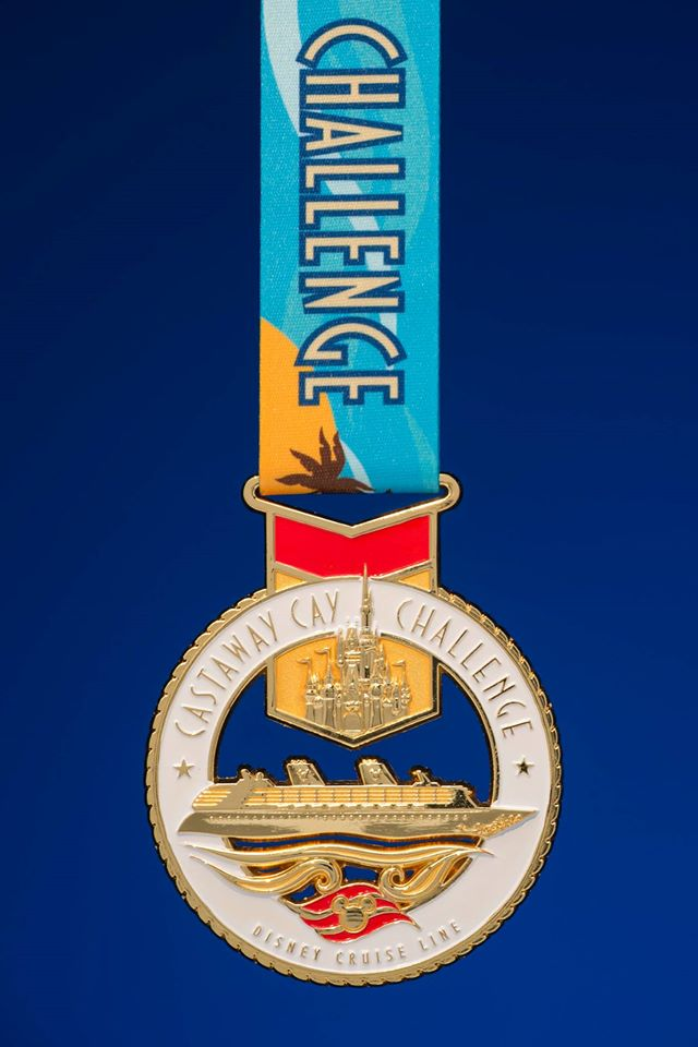 First Look at the runDisney Disney Cruise Line Castaway Cay 5K Challenge Race Medal