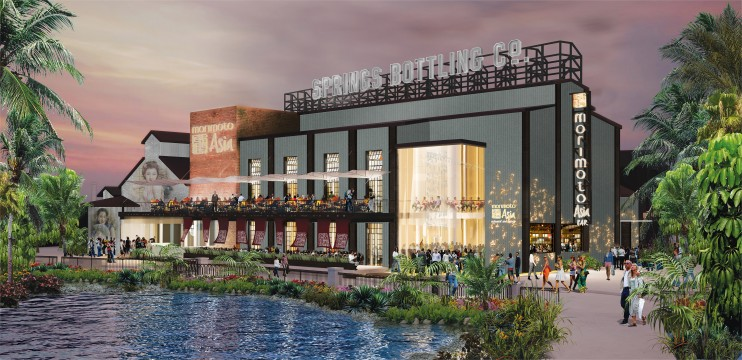 Iron Chef Morimoto Asia Restaurant Concept Art Walt Disney World